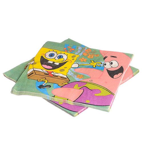 Sponge Bob Napkins