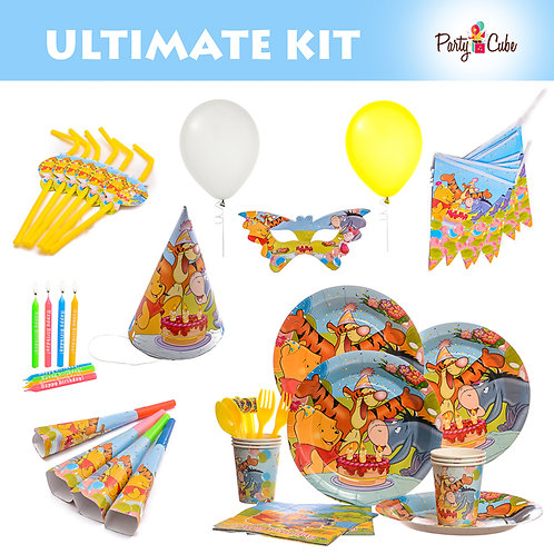 Winnie The Pooh Ultimate Party Set
