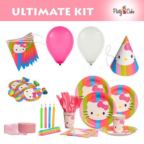 Hello Kitty Rainbow Ultimate Party Set