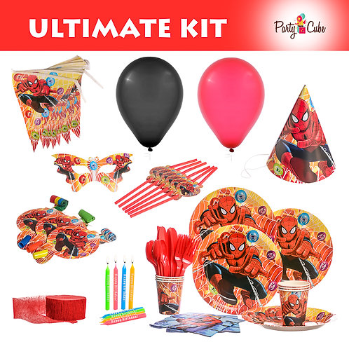 Spiderman Ultimate Party Set