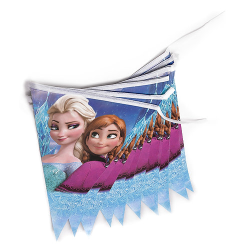 Frozen Running Flag