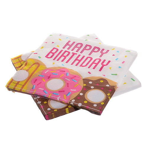 Doughnut Paper Napkins