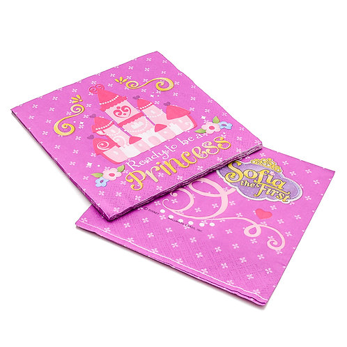 Sofia The First Lavender Lunch Paper Napkins