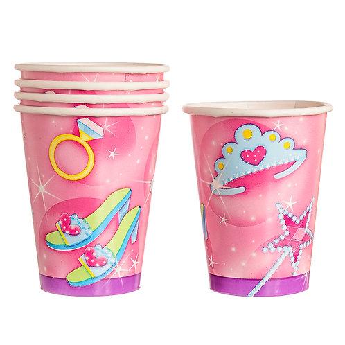 Pink Princesses Cups