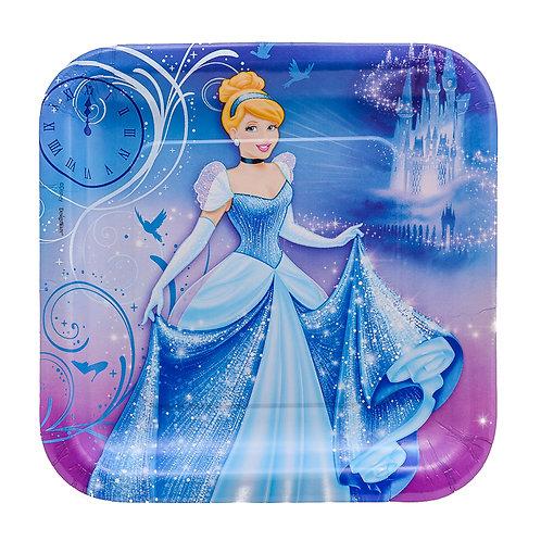 Cinderella Dinner Paper Plates