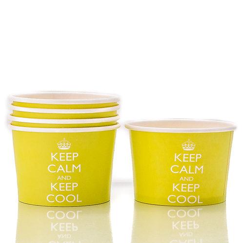Keep Calm Party Ice Cream Tubs