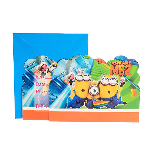 Despicable Me 2 Invitation Cards