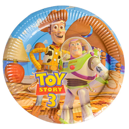 Toy Story 3 Paper Plate