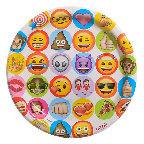 Show Your Emoji Lunch Plate