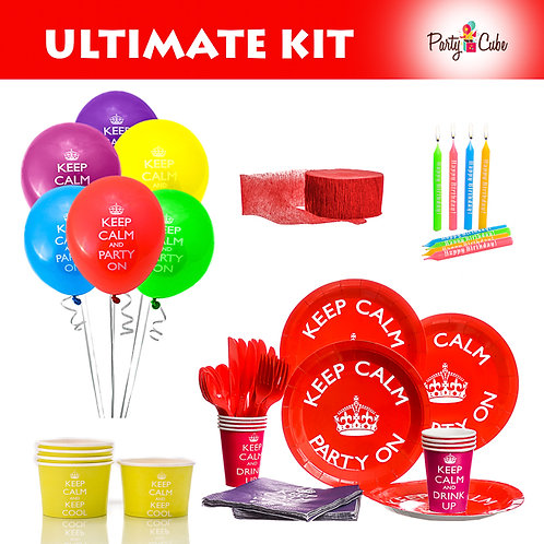Keep Calm Ultimate Party Set