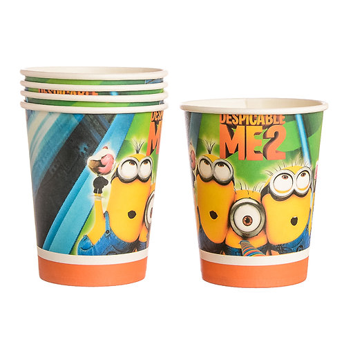 Despicable Me 2 Paper Cups