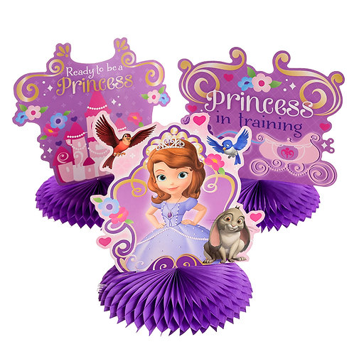 Sofia The First Table Decoration