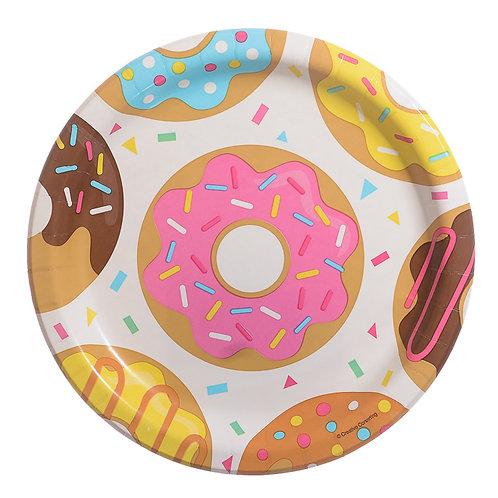 Doughnut Luncheon Paper Plate