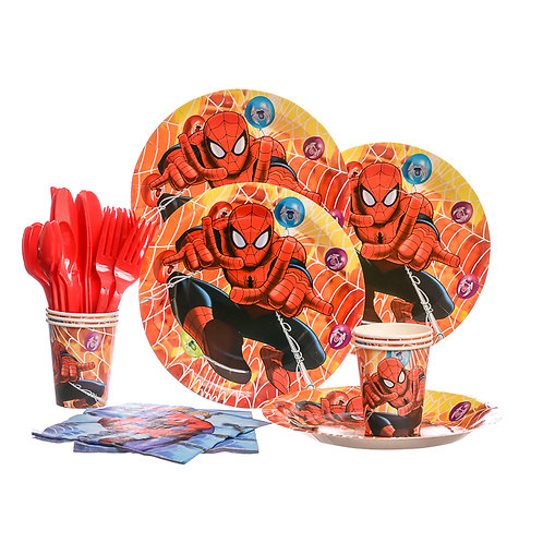 Spiderman Party Set