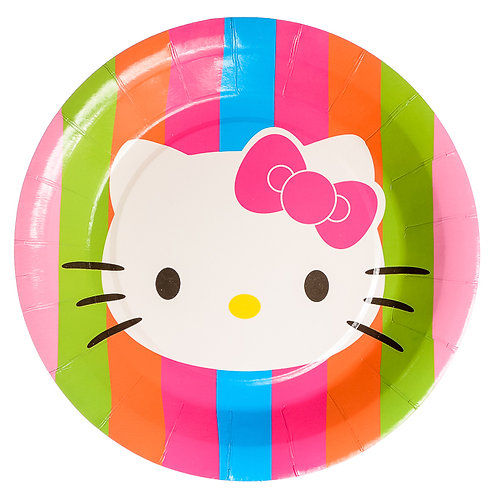 Hello Kitty Rainbow Luncheon Plates