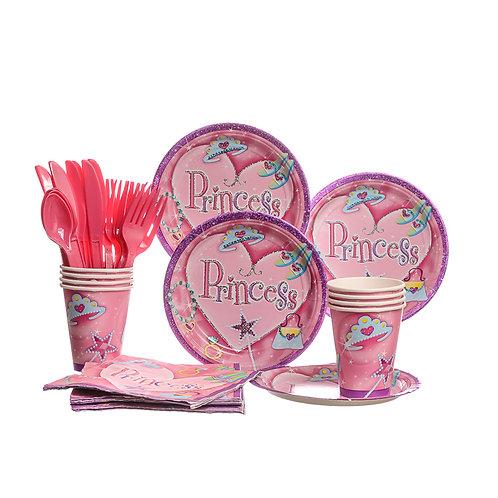 Pink Princess Party Set
