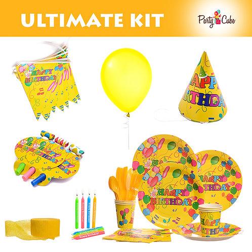 Happy Birthday Ultimate Party Set