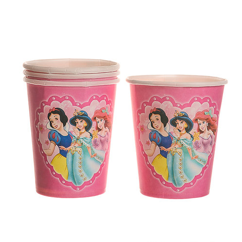 Disney Princesses Paper Cups