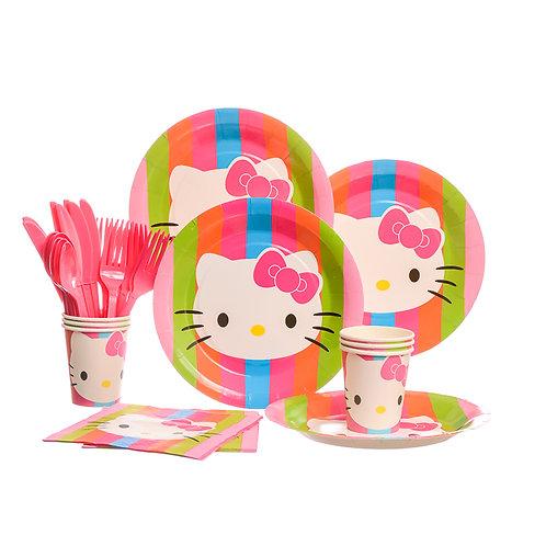 Hello Kitty Rainbow Party Set