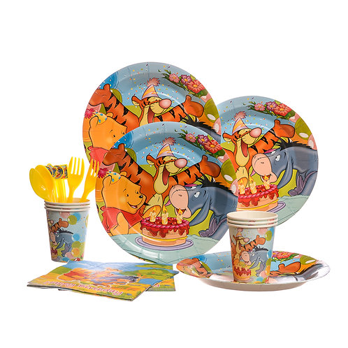 Winnie The Pooh Party Set