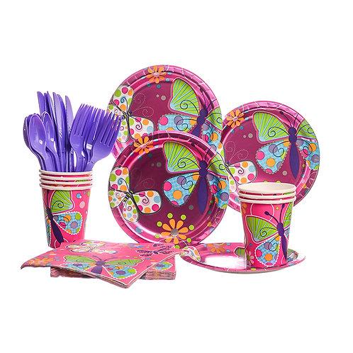 Butterfly Sparkle Party Set