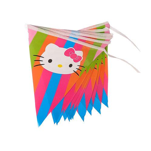Hello Kitty Running Flag