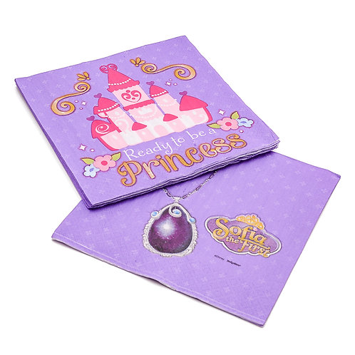 Sofia The First Lavender Lunch Napkins