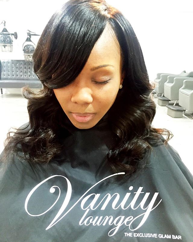 #SHESOVAIN _Our lovely client is wearing our Malaysian straight hair 14inches With a lace Closure