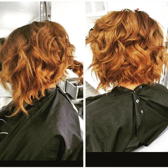 Loving this Ginger Bob 😍 _glam_dollz 💇🏽💇🏽💇🏽 #vanityloungestylist #vanitylounge #bayareahairst