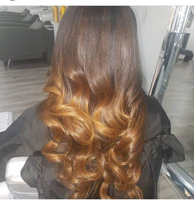 GORGEOUS!  #ombre #balayage #shesovain 😍 _Stylist_ _glam_dollz _#vanityloungehair #bayareahair