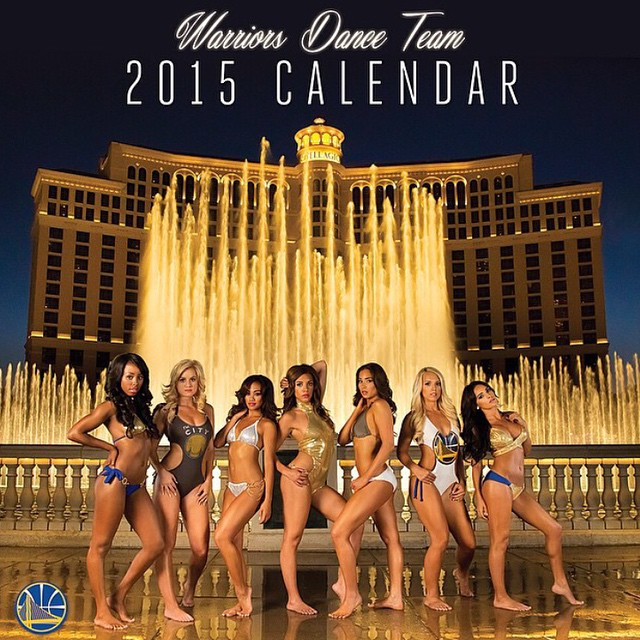 The 2015 GoldenstateWarriors dance team Calendar is here. Orders yours at warriors