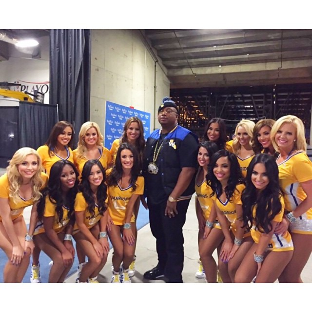 Golden State Warriors!! 💛💙 #warriors #dubnation #NBAfinals #e40 #warriorsdanceteam