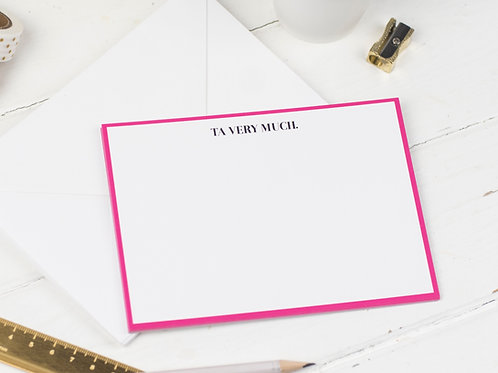 TA VERY MUCH Notecards, Pack of 8