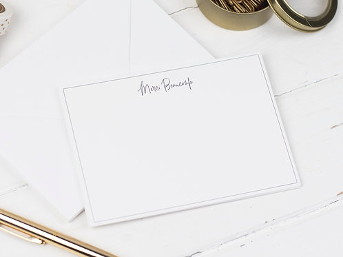 Merci Beaucoup Notecards, Pack of 8