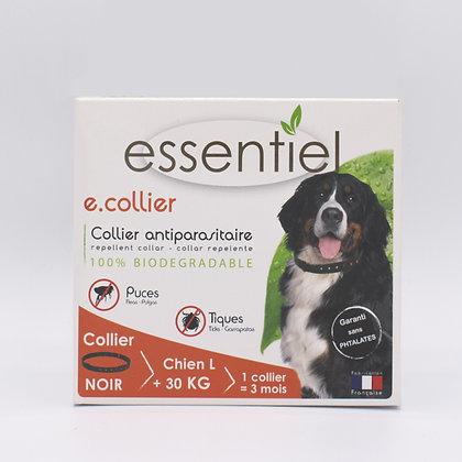 Collier antiparasitaire L chien + 30kg