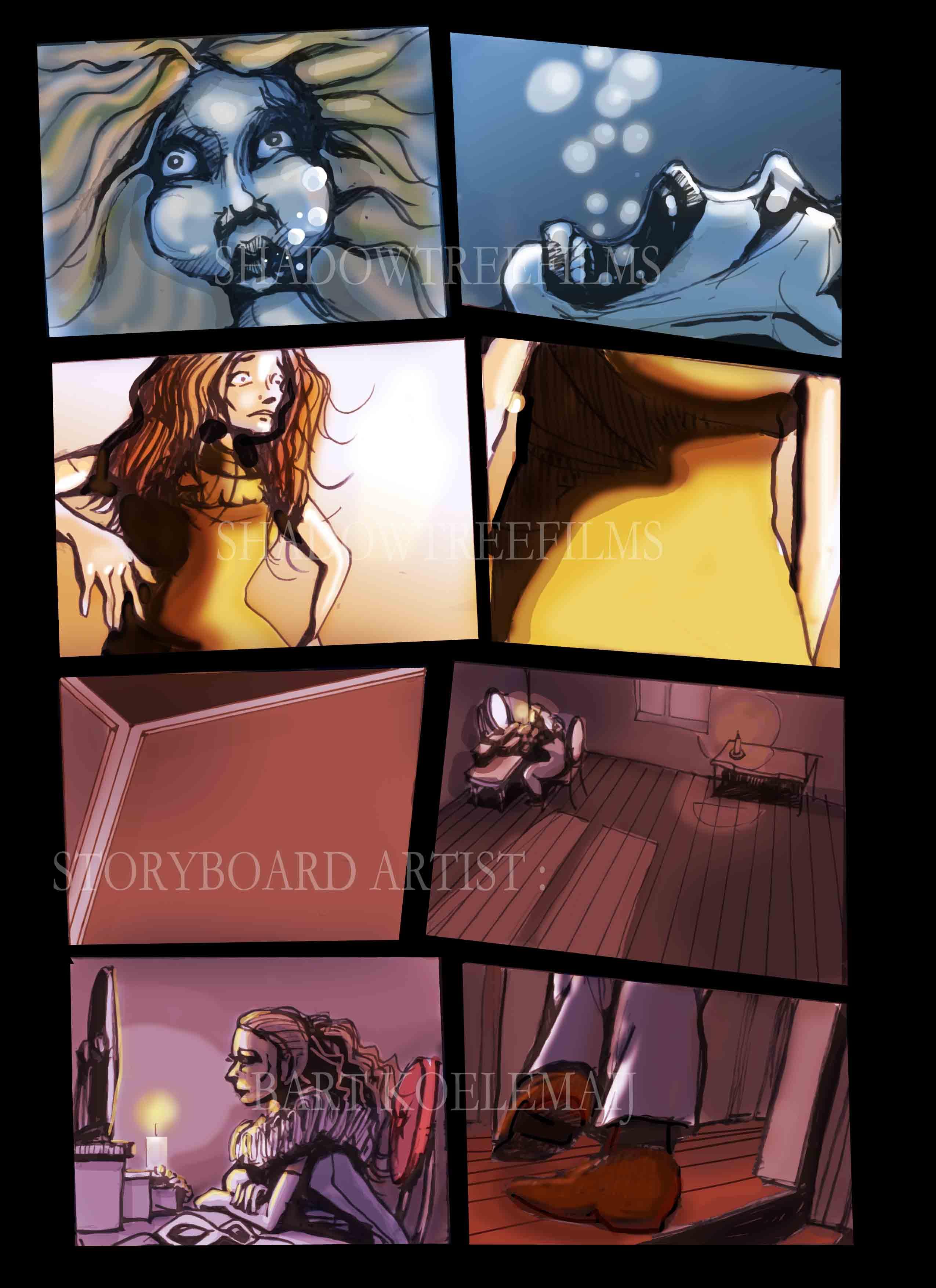 Masquerade storyboard