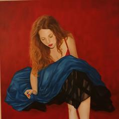 Self Portrait in Oils
