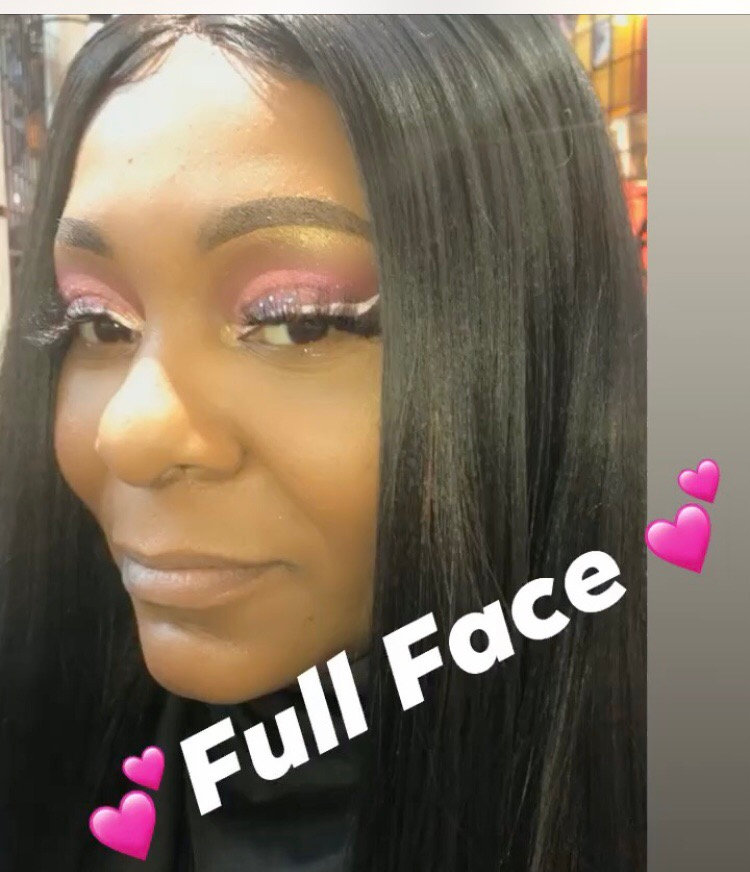 🌸FULL BEAT WITH LASHES 🌸