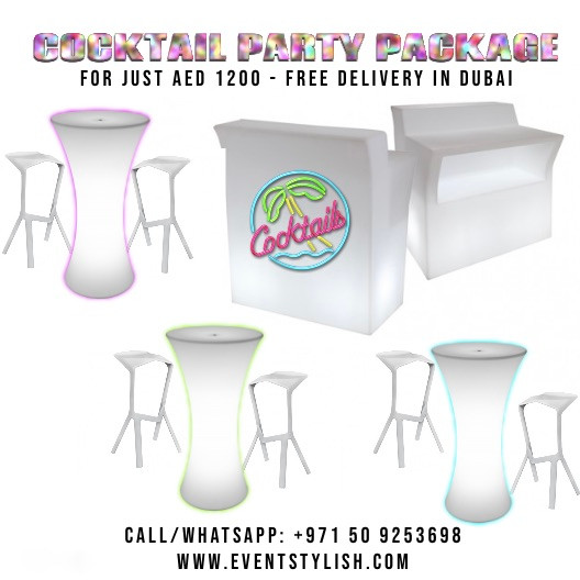 Best Cocktail Party Package in Dubai, UAE