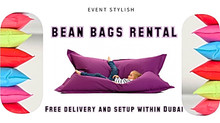 LARGE BEAN BAGS RENTAL @ Aed 70 each