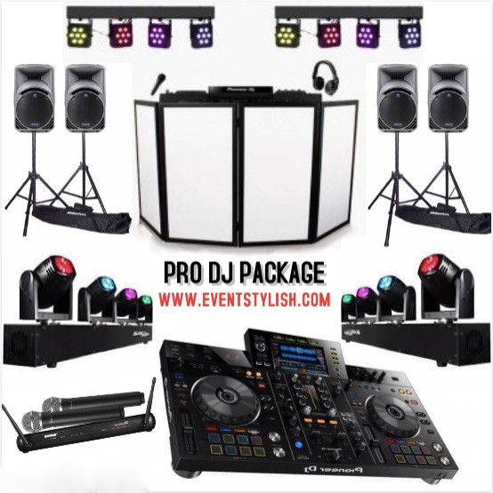 Pro DJ package for your events in Dubai, UAE