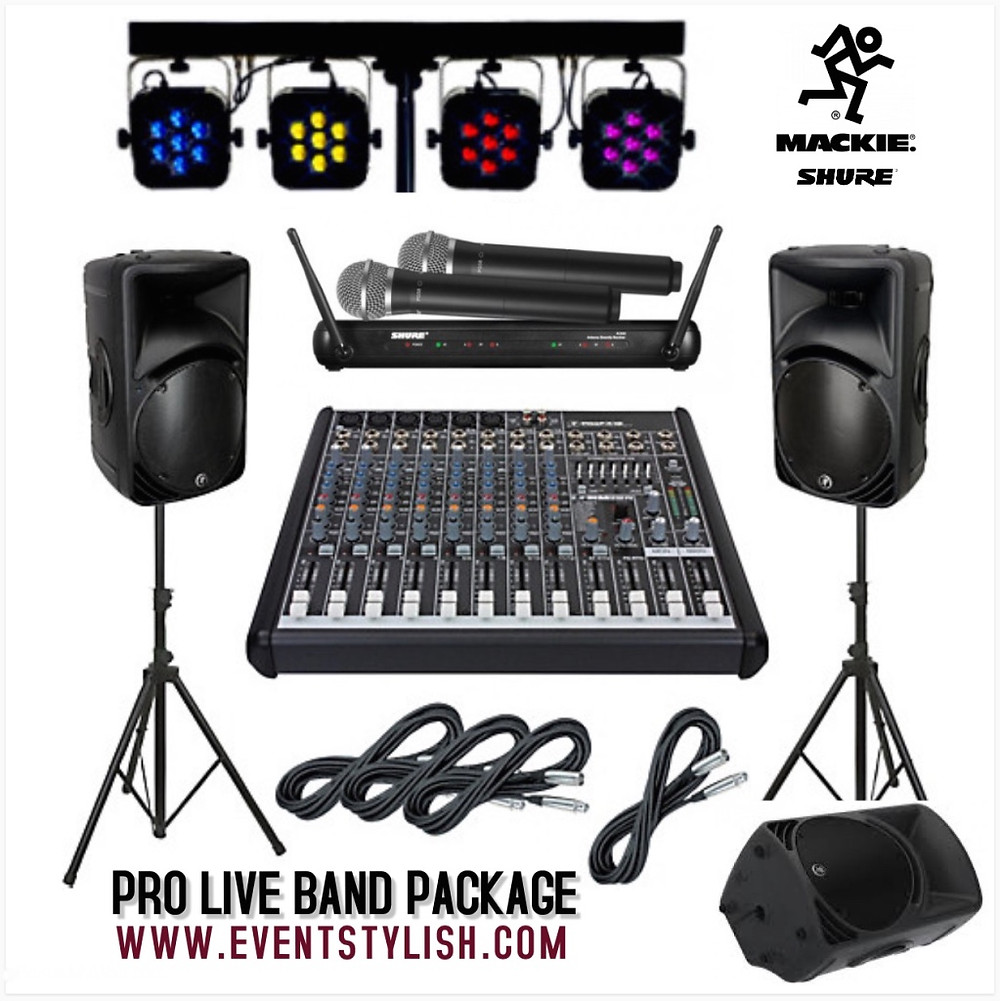 Pro Live Band Package in Dubai
