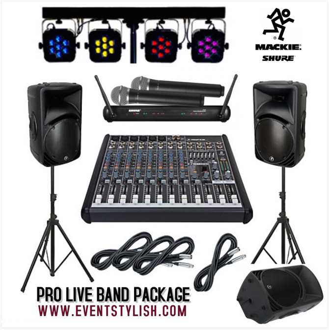 Pro Live Band Package in Dubai, UAE