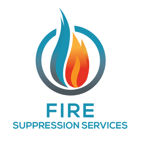 Fire Suppression Services Logo Stacked_W