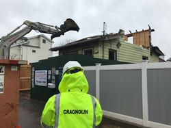 Demolition of Sandy Damaged Home