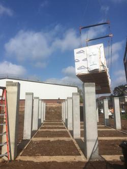 Lift and Set of Modular Home