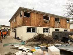 Demolition of semi-attached home