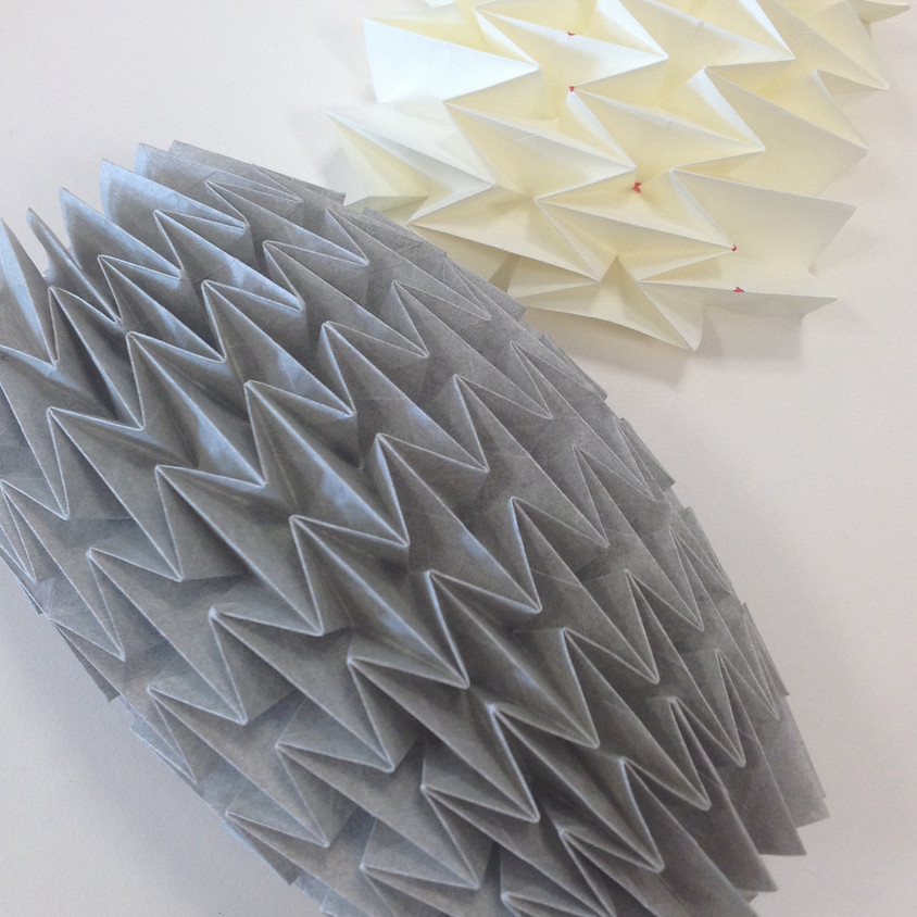 Textiler Plisseetag
