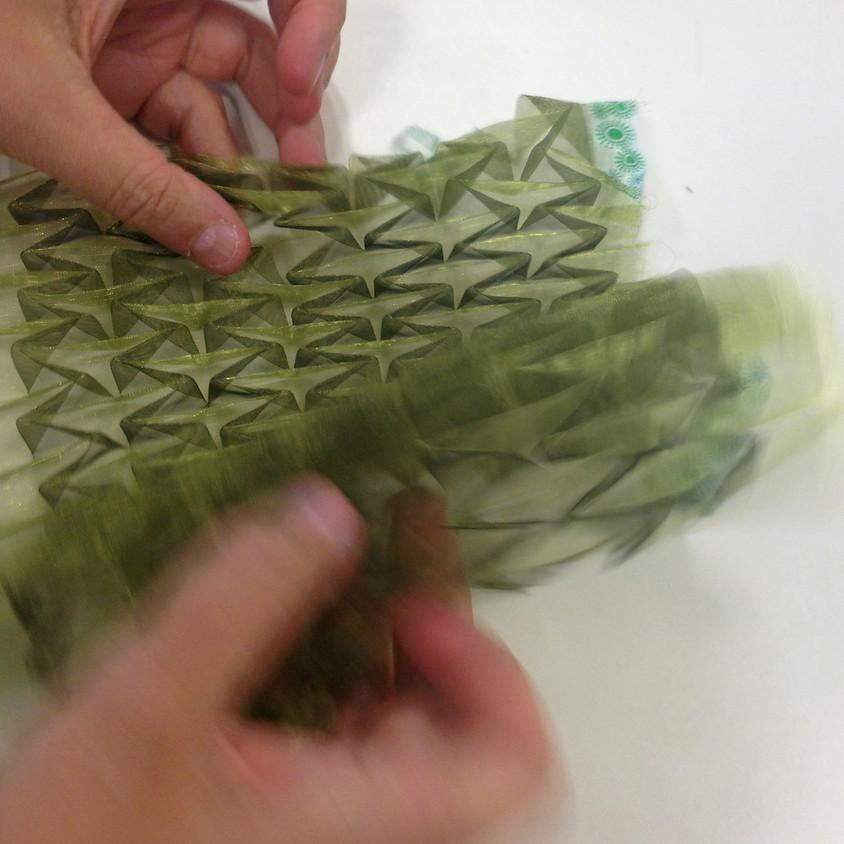 Textile Origami-Experimente