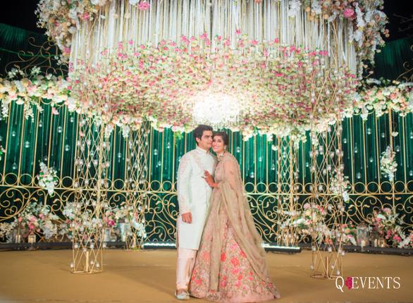 Pallavi & Dishant's Wedding Mandap